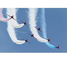 RAF Red Arrows - Formation Display Photographic Print