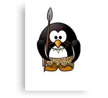 Wild Penguin Canvas Print