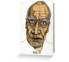 Wilko Johnson Greeting Card