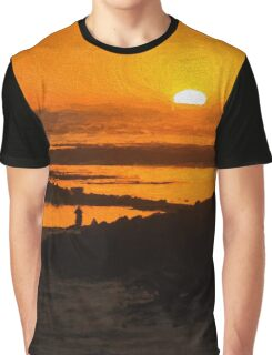 South Beach Sunset (EH) Graphic T-Shirt