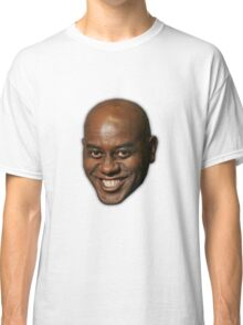 Large Ainsley Harriott Face Print Classic T-Shirt