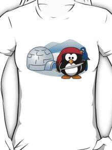 Pirate Penguin In Antarctica T-Shirt