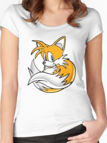 Tails the Fox Women's Fitted Scoop T-Shirt