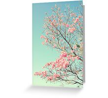 Spring Kissing the Sky Greeting Card