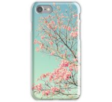 Spring Kissing the Sky iPhone Case/Skin