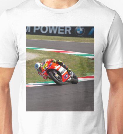 Valentino Rossi in Mugello 2011 Unisex T-Shirt