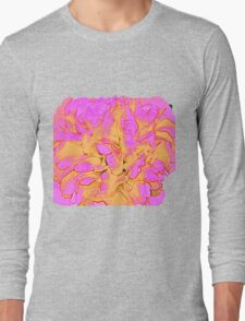 Psychedelic Rose Long Sleeve T-Shirt