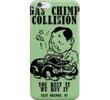 Gas Chimp Collision iPhone Case/Skin