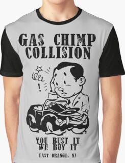 Gas Chimp Collision Graphic T-Shirt