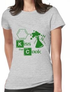 Kiss the Cook Womens Fitted T-Shirt