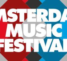 Amsterdam Music Festival - AMF Sticker
