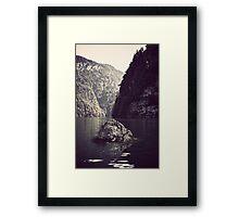 87 Framed Print