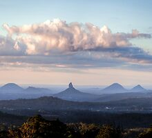 Glass House Mountains by Brad Grove