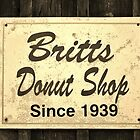 Britt's Donut Shop Sign 3 by Cynthia48