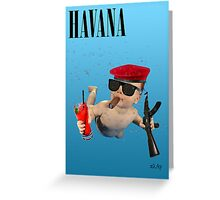 Havana - Smells Like Baby Spirit Greeting Card