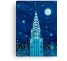 Winter in New York City Canvas Print