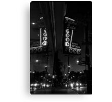 the goof at night Canvas Print