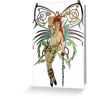 Celtic Fairy Greeting Card