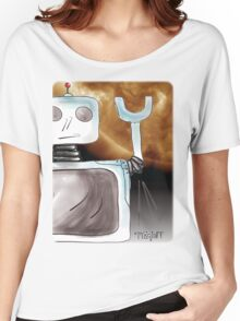 Robot Saves the World Women's Relaxed Fit T-Shirt