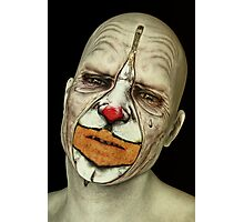 Behind The Mask - The Tears of a Clown Photographic Print