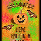 Halloween Party Invitation  by Kgphotographics