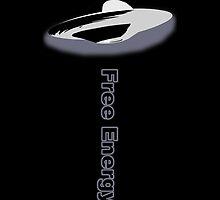 Free Energy iPhone Case Black by Martin Rosenberger