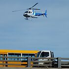 HELICOPTER -PORT ADELAIDE  by JAMES LEVETT