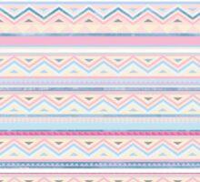 Blue Screen Print Aztec Sticker