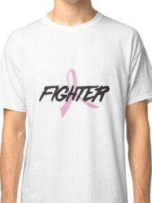 Pink Ribbon Fighter Classic T-Shirt