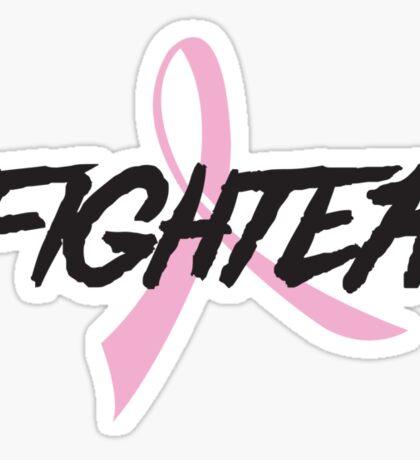 Pink Ribbon Fighter Sticker