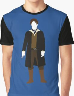 The Eighth Doctor - Doctor Who - Paul McGann (Night of the Doctor) Graphic T-Shirt