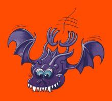 Bat Sinking its Fangs into Fresh Flesh Kids Tee