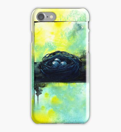Robin Nest iPhone Case/Skin