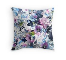 Water Meadow Throw Pillow