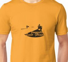 Bonneville Salt Flats Motorcycle Design Unisex T-Shirt