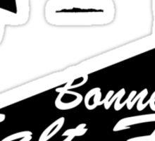 Bonneville Salt Flats Motorcycle Design Sticker