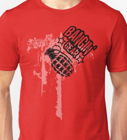 Bangin' Gear Grenade Logo Items Unisex T-Shirt