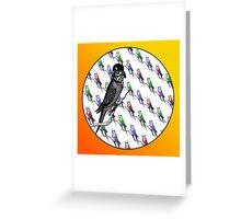 Star Birds Greeting Card