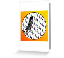 Star Birds Greeting Card