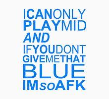 I'm So AFK - Blue Text Unisex T-Shirt