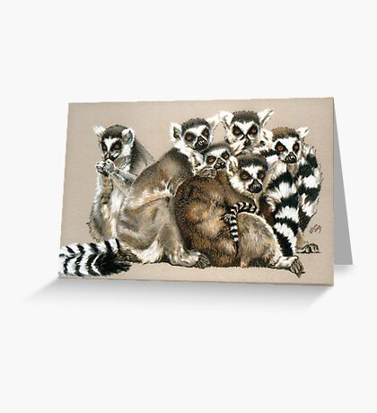 Odd Man Out Greeting Card