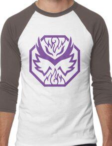 Grape Gunslinger (Purple) Men's Baseball ¾ T-Shirt
