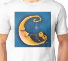 The moon and me Unisex T-Shirt
