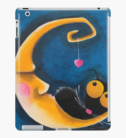 The moon and me iPad Case/Skin