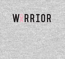 Warrior Pink Ribbon Womens Fitted T-Shirt