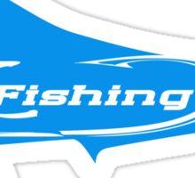 Mahi Mahi FL fishing T-shirt Sticker