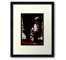 Larmes de Sang / Blood Tears Framed Print