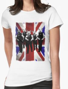 British police spoof Womens Fitted T-Shirt