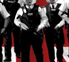 British police spoof Sticker