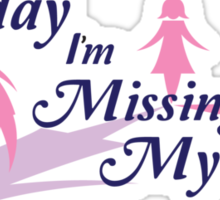 Today I am missing my aunt Sticker